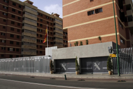 Luto por la muerte de un guardia civil en la Comandancia de Palma