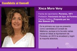 Xisca Mora, una mujer discreta que aspira a presidir el Consell