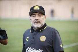 Diego Armando Maradona, entrenador y exjugador de fútbol