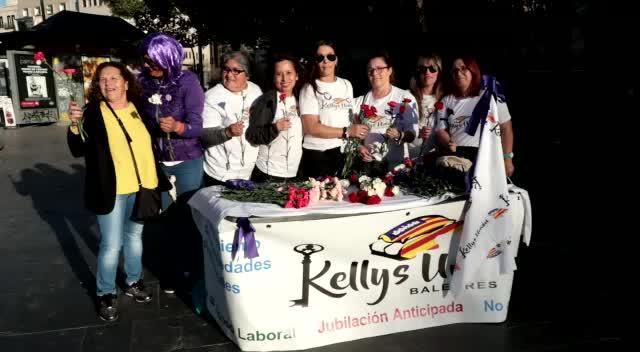 Las 'Kellys' se suman al 8 M para dar visibilidad a los problemas de su colectivo