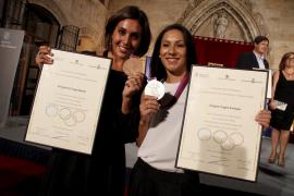 Mallorca presume de su póquer de medallistas olímpicas