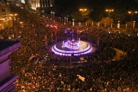 Masiva marcha en toda España contra la discriminación de la mujer