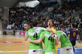 El Palma Futsal doblega al líder en un Son Moix repleto