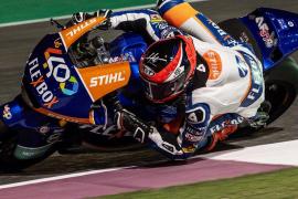 Augusto Fernández sale décimo en Moto2