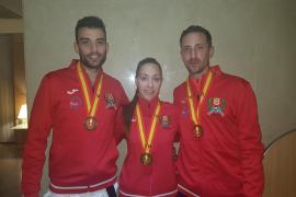 Balears suma tres medallas en el nacional de taekwondo