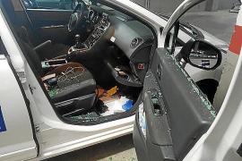 Oleada de robos en el interior de taxis aparcados en la calle y en parkings de Palma