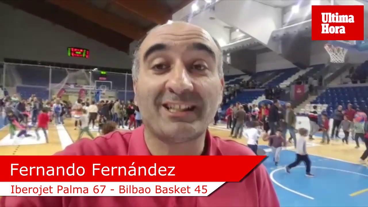 Victoria de prestigio del Iberojet Palma ante el Bilbao Basket
