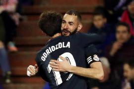 El Madrid reacciona en Pucela