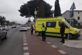 Herido un ciclista arrollado por un coche junto a la Fira del Ram