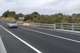 Ya se puede circular por el puente de Artà, destruido por las inundaciones
