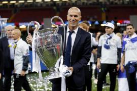 Zidane, el «hasta luego» más efímero