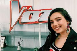Auba Estela Murillo, una luchadora que encandila al público de La Voz