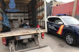Camión robado en Palma