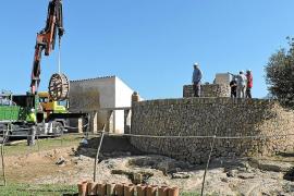 Empieza el montaje de la Sínia de l'Hort d'en Copido en la ciudad romana de Pollentia