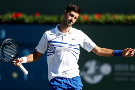 Novak Djokovic se despide de Indian Wells