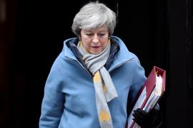 Theresa May se queda afónica y no puede abrir el debate sobre el 'Brexit'
