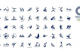 Tokio 2020 presenta los pictogramas de sus deportes
