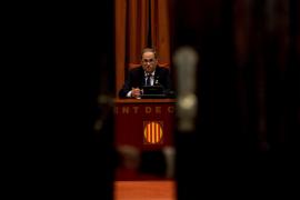 Torra mantiene lazos amarillos y recurre el requerimiento de la Junta Electoral