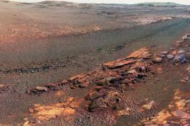 La NASA divulga una panorámica de Marte con imágenes del Opportunity