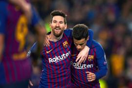 El Barcelona golea al Lyon y se clasifica para los cuartos de final