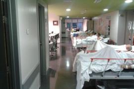 Más de 40 pacientes esperan cama en las Urgencias de Son Espases