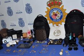 Desarticulada una banda criminal muy activa dedicada a robos con fuerza en domicilios de Palma