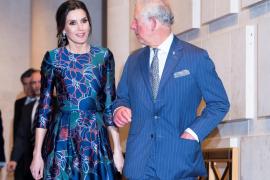 La verdadera razón de porqué hizo esperar doña Letizia al príncipe Carlos de Inglaterra