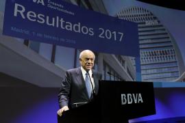 Francisco González renuncia temporalmente a sus cargos del BBVA