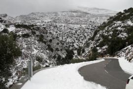 La nieve regresa a la Serra