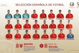 Luis Enrique cambia la cara de España para los partidos ante Noruega y Malta
