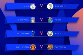 Manchester United-Barça en cuartos de la Champions