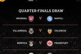 Villarreal y Valencia se citan en la Europa League