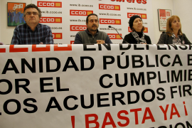 El sindicato CCOO convoca la primera huelga general de la sanidad pública balear