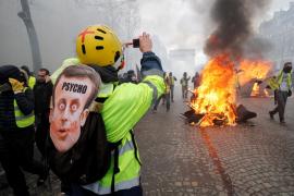 Al menos 64 detenidos durante los disturbios de los 'chalecos amarillos' en París