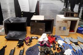 Piden 103 años de cárcel a una banda organizada dedicada a robar en chalets en Mallorca