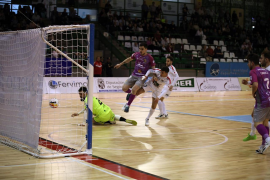 El Palma Futsal se impone en Segovia