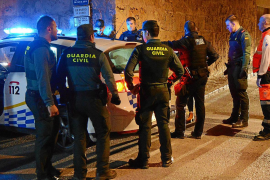 Gran despliegue policial en Andratx por una violenta pelea entre hermanos