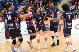El Urbia Palma se lleva el derbi de la Superliga de voleibol
