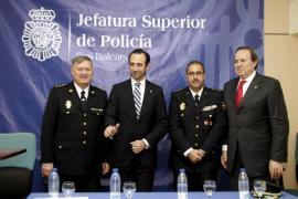 El nuevo jefe superior de Policía de Balears  se compromete a aumentar la seguridad