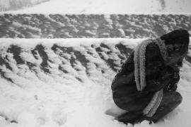 Dos mallorquinas quedan atrapadas en la intensa nevada que azotó Cataluña
