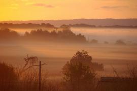 El alba entre nieblas