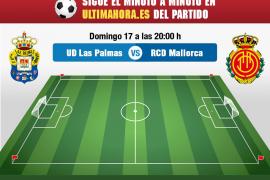 Así vivimos en directo el Las Palmas-Real Mallorca