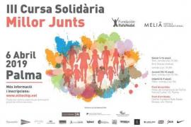 La Fundación Rafa Nadal organiza la tercera carrera solidaria 'Millor Junts' en Palma