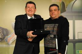 José Romera, mejor vendedor de la ONCE en Baleares