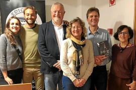 Biel Bassa presenta el libro 'El Mestre Amer' en el Centre de Cultura Sa Nostra