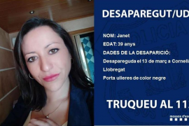 Localizado el coche de la mujer desaparecida en Cornellà