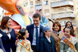 Casado remarca que el PP «no es ni Ciudadanos ni Vox»