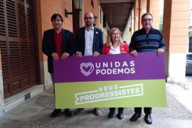 Malagrava y Cursach candidatos de Unidas Podemos al Senado