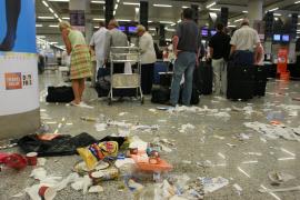 Huelga de limpieza en el aeropuerto de Palma para el 17 y 21 de abril