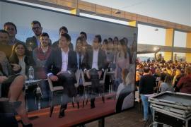 Bauzá acompaña a Rivera en un acto de Ciudadanos